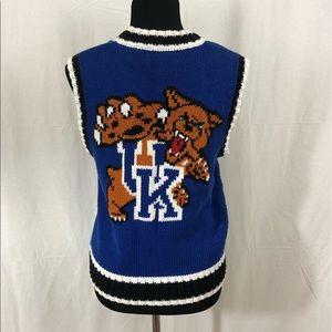 Sweaters - Vintage Sweater Vest University of Kentucky UK S